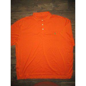 Polo Ralph Lauren Performance Golf Shirt Orange XX